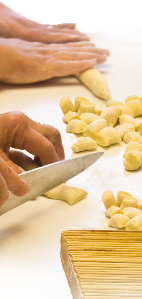 Italian grandmothers make it best. Home made gnocchi that melts in your mouth!